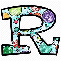 R Letter Images
